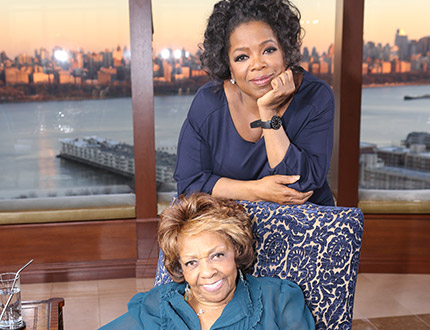 oprah's next chapter cissy houston