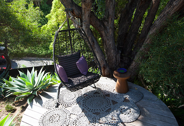 John Legend's outdoor space