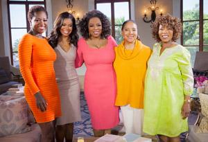 Alfre Woodard, Viola Davis, Oprah Winfrey, Phylicia Rashad and Gabrielle Union