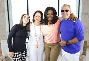Gloria Estefan on Balancing Fame and Family - Video Gloria Estefan Family 2013