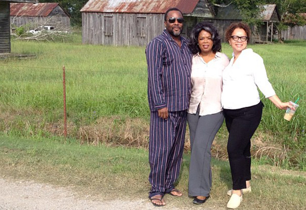 Lee Daniels, Oprah Winfrey and Ruth Carter