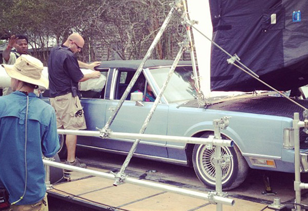 """Lincoln Town Car on set of """"Lee Daniels' The Butler"""""""