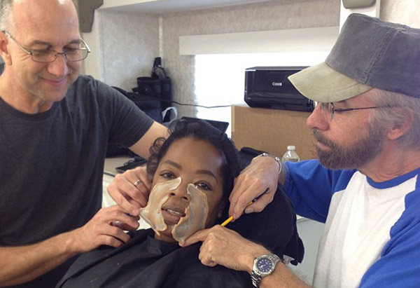 "Oprah Winfrey on set of ""Lee Daniels' The Butler"""