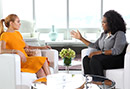"Oprah to Lindsay Lohan: ""Are You an Addict?"""