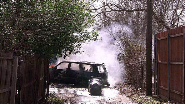 Car Fire Endangers Community Video