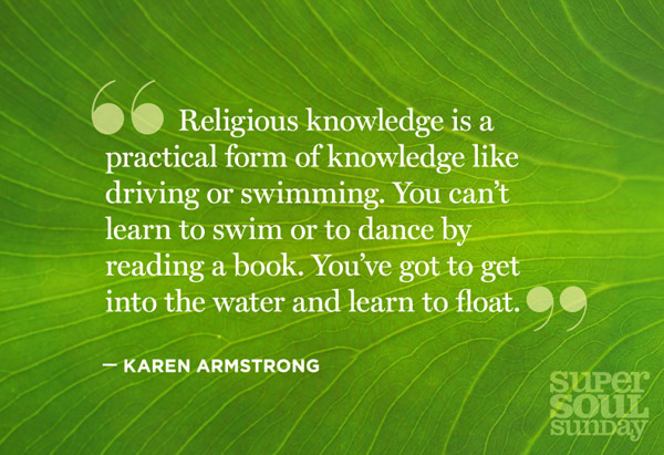 Karen Armstrong quote