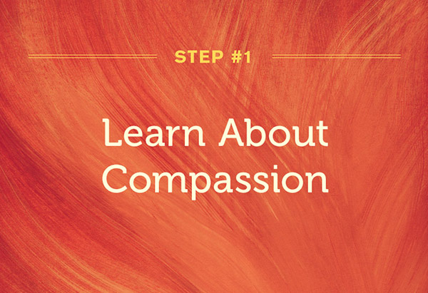 Karen Armstrong's first step to compassion