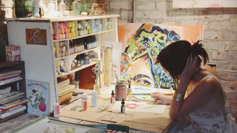 Why This Painter Believes in the Transformative Power of Art