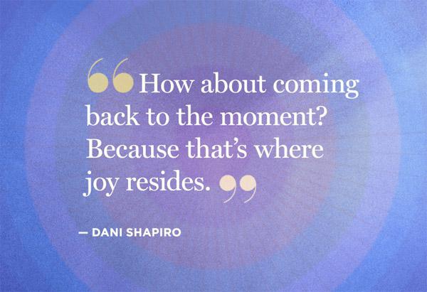 Dani Shapiro quote