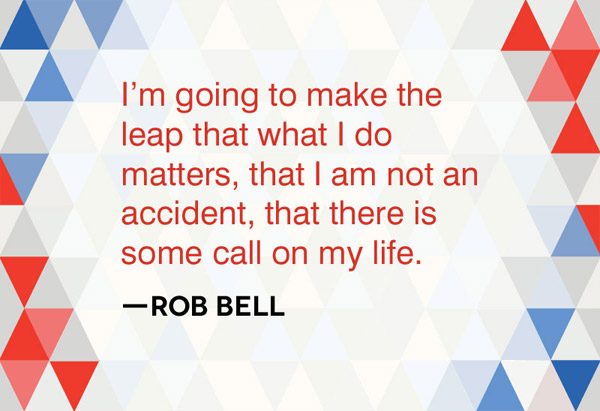 Rob Bell quotation