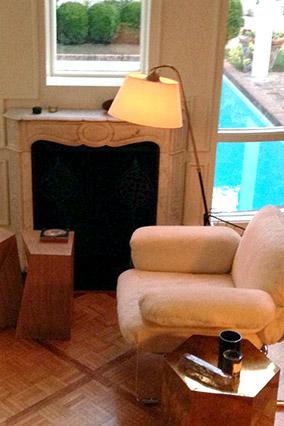 Nate Berkus' LA living room