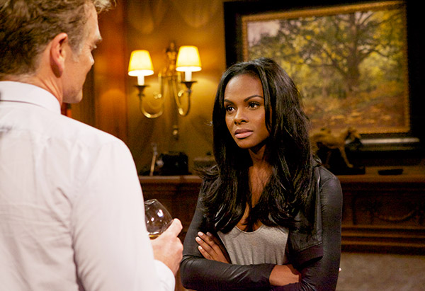 John Schneider as Jim Cryer and Tika Sumpter as Candace Young