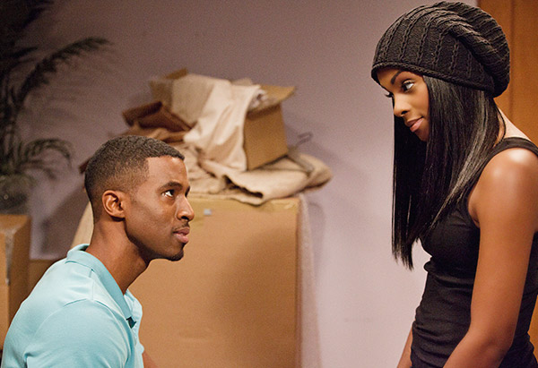 Gavin Houston and Tika Sumpter