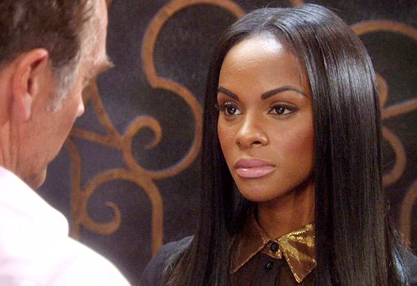 John Schneider and Tika Sumpter