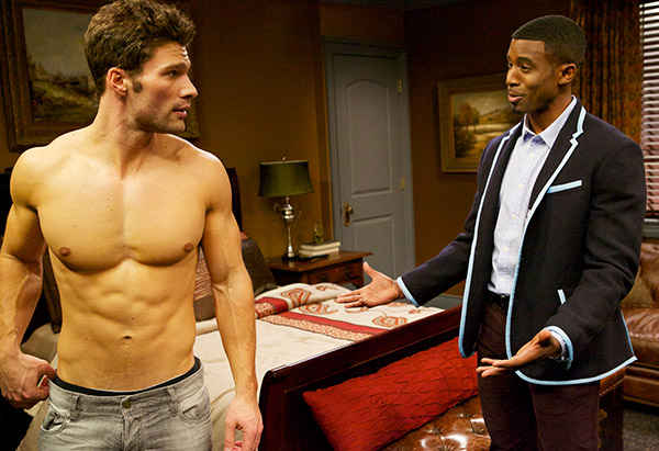 Aaron O'Connell and Gavin Houston