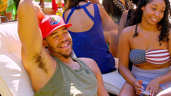 Pam Catches JaVale Throwing a Party - Video