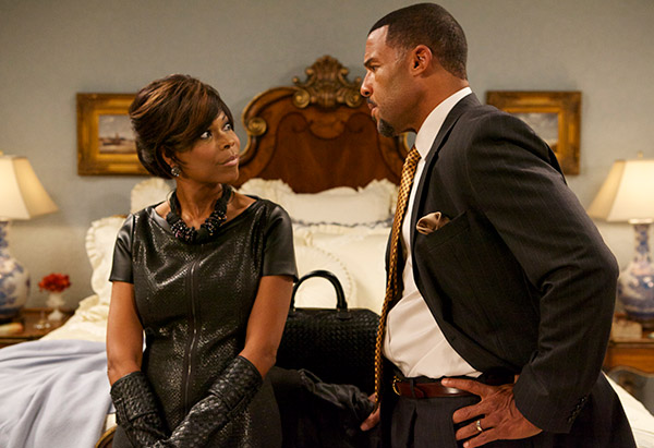 Angela Robinson and Peter Parros