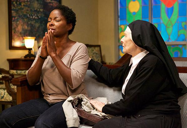 Crystal Fox and nun