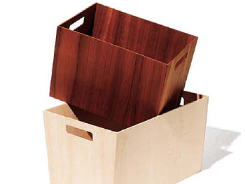 Wood Storage Totes