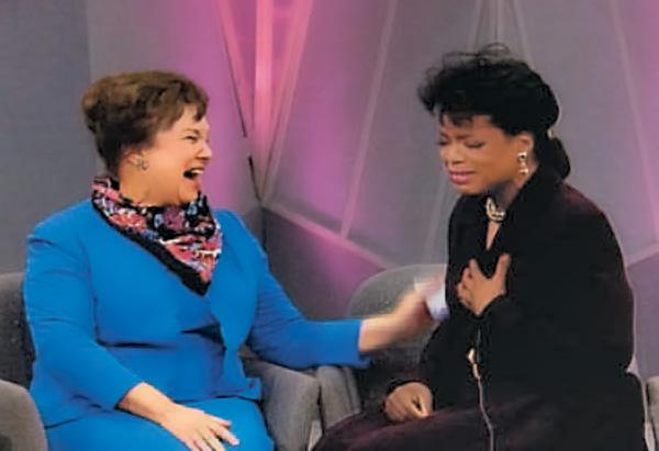 Oprah and her fourth grade teacher