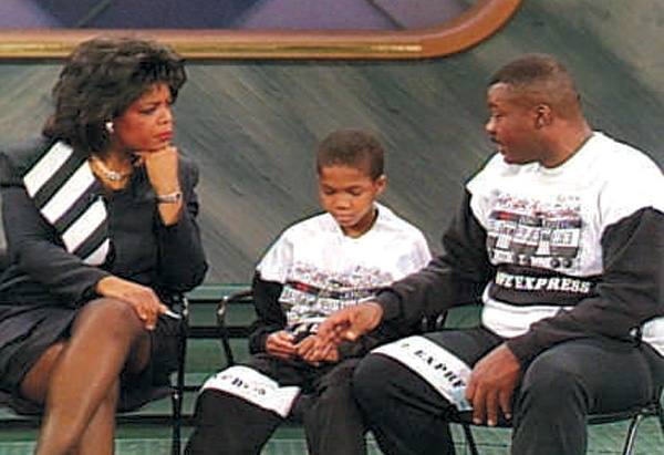 Oprah, Robert Jones and his father