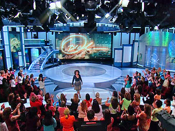 Oprah's new set