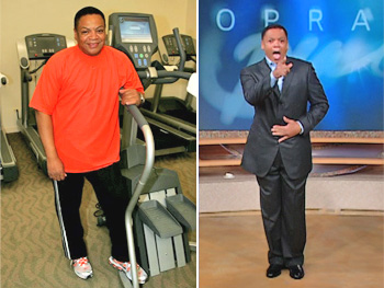 Reggie Wells, after Oprah's Boot Camp