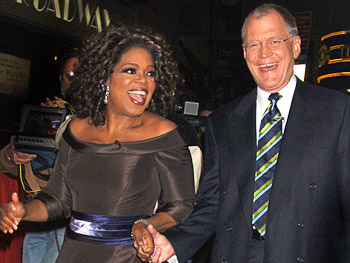 Oprah keeps this photo in her office.
