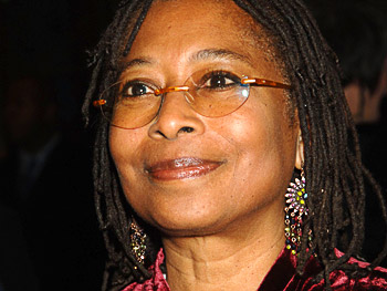 Alice Walker arrives for opening night