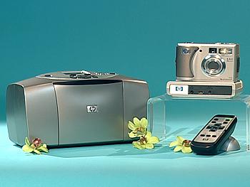 Hewlett packard Camera, Printer and Dock