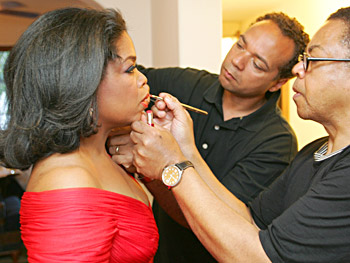 Oprah, Andre Walker and Reggie Wells