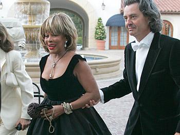Tina Turner and Erwin Bach. Copyright 2005, Harpo Productions, Inc./George Burns & Bob Davis.
