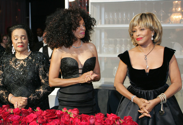 Coretta Scott King, Diana Ross and Tina Turner
