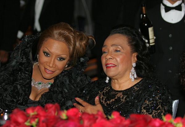 Patti LaBelle and Coretta Scott King