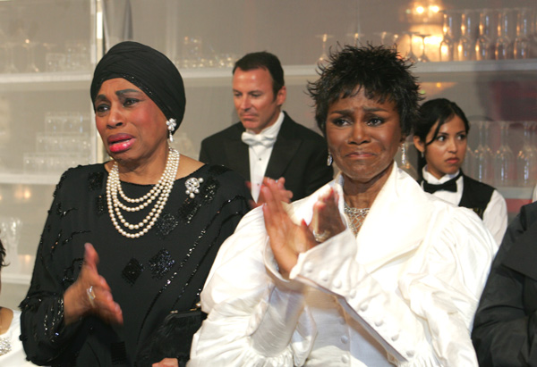 Leontyne Price and Cicely Tyson