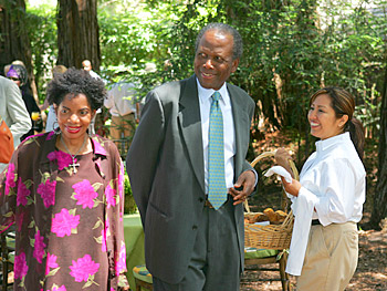 Melba Moore and Sidney Poitier. Copyright 2005, Harpo Productions, Inc./George Burns & Bob Davis. All rights reserved.