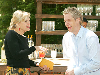 Diane Sawyer and Chris Botti. Copyright 2005, Harpo Productions, Inc./George Burns & Bob Davis. All rights reserved.