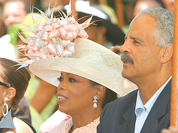 Oprah and Stedman Graham. Copyright 2005, Harpo Productions, Inc./George Burns & Bob Davis. All rights reserved.
