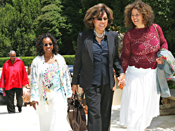 Judith Jamison, Gladys Knight, Diahann Carroll and Anna Deavere Smith