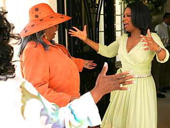 Oprah and Della Reese