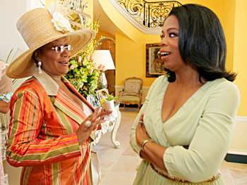 Oprah and Patti LaBelle