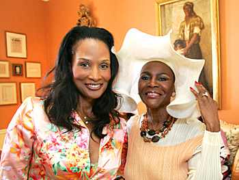 Beverly Johnson and Cicely Tyson