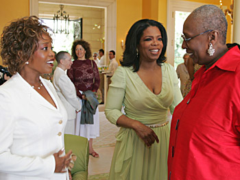Alfre Woodard, Oprah and Judith Jamison