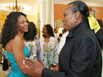Kimberly Elise and Naomi Sims