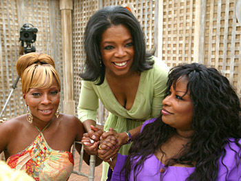 Oprah, Mary J. Blige and Chaka Khan