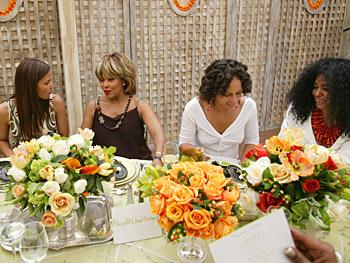 Halle Berry, Tina Turner, Alicia Keys and Diana Ross