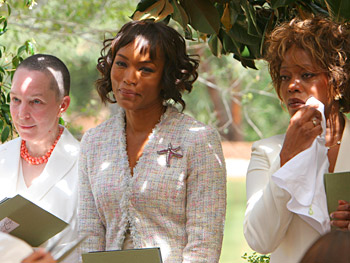 Pearl Cleage, Angela Bassett and Alfre Woodard