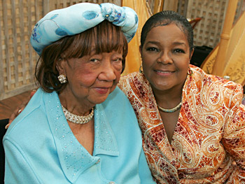 Dorothy Height and Shirley Caesar