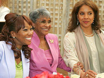 Yolanda Adams, Nancy Wilson and Phylicia Rashad