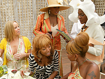 Mariah Carey, Brandy, Patti LaBelle, Mary J. Blige and Cicely Tyson